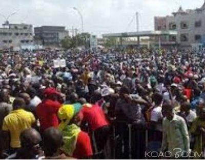 Bénin  : Vaste manifestation à Cotonou  contre l'exclusion de l'opposition aux législatives