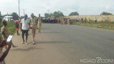 Côte d'Ivoire : À Bangolo et Tiebissou, des élèves dans les rues pour réclamer la reprise des cours