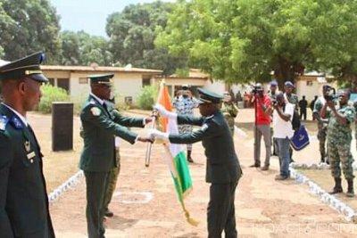 Côte d'Ivoire : Au Bataillon de Sécurisation de l'Ouest, un lieutenant colonel prend le contrôle du commandement