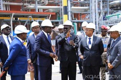 Côte d'Ivoire : A Azito, une nouvelle centrale Thermique inaugurée