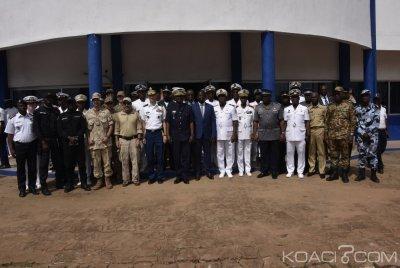 Côte d'Ivoire : L'exercice Obangamé Express pour la sécurisation du  golfe de Guinée lancé depuis Abidjan