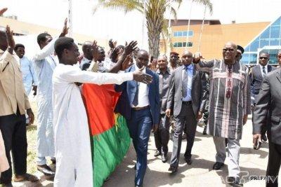 Burkina Faso : le président Kaboré à N'Djaména pour le Salon africain de l'Agriculture
