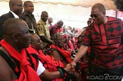 Côte d'Ivoire : Soro et Hamed présents aux obsèques de la reine mère de Niablé