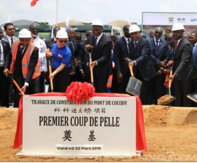 Côte d'Ivoire : Les travaux du cinquième pont reliant Cocody au Plateau d'un coût de 77, 5 milliards enfin lancés