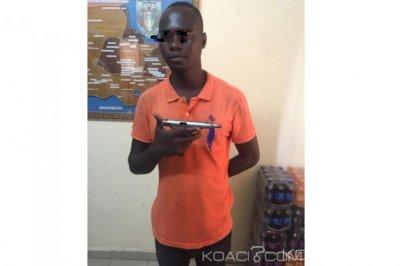 Côte d'Ivoire : A Yopougon, un individu interpellé en possession d'une arme Russe et d'une fausse carte professionnelle