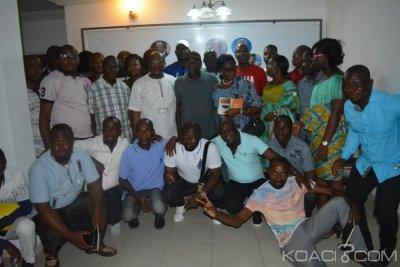 Côte d'Ivoire : La jeunesse de la plateforme EDS présente son bureau au président Ouégnin
