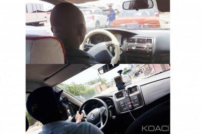 Côte d'Ivoire : Taxi à Abidjan, j'ai pris Yango à l'aller, Compteur au retour, 1200 Fcfa pour la clim