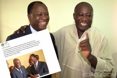 Côte d'Ivoire : Contrairement au communiqué du RHDP, Ouattara n'a pas missionné Bakayoko pour aller parler à Gbagbo