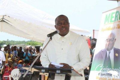 Côte d'Ivoire : Adjoumani depuis Tiébissou, « Aucun parti politique, seul, ne peut gagner une élection »