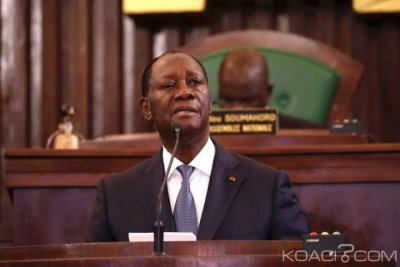 Côte d'Ivoire : Depuis l'Assemblée nationale, Ouattara à propos des victimes «S'il n'y a pas d'indemnisation des victimes, il ne peut pas y avoir de réconciliation»