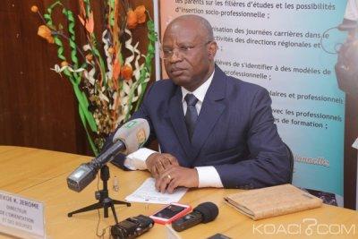 Côte d'Ivoire : Journées carrières 2019, le satisfecit du directeur de l'orientation et des Bourses (DOB)