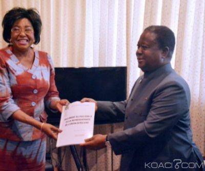 Côte d'Ivoire : Bédié à la Commission de l'Union africaine (UA), «Nous vivons ici dans un contexte difficile de non-paix»