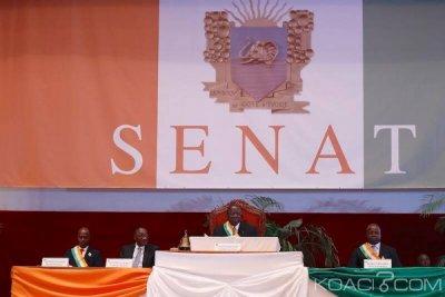Côte d'Ivoire : La liste complète des 33 sénateurs nommés ce jour par Ouattara conformément à la Constitution