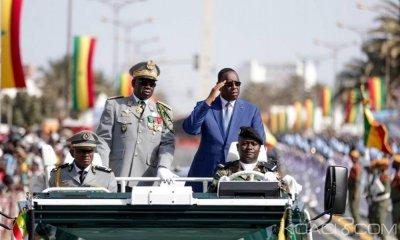Sénégal: Fête de l'indépendance, 7 aéronefs, 345 véhicules, 124 motos et 31 chevaux… Sall exhibe la force de frappe de son pays