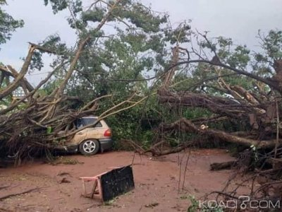 Côte d'Ivoire : À  Duekoué, une tornade fait de nombreux dégà¢ts matériels, plusieurs habitations décoiffées