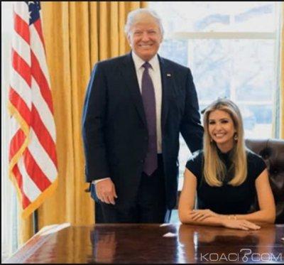 Côte d'Ivoire : Ce que vient faire la fille de Donald Trump, Ivanka à Abidjan courant avril