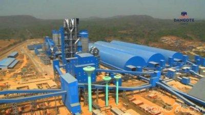 Côte d'Ivoire : Construction de l'usine de fabrication de ciment du  groupe DANGOTE,  800 emplois directs annoncés