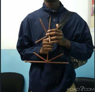 Côte d'Ivoire : Un élève circulait avec un fer surmonté d'épines dans son sac, pour «se protéger en cas d'agression», prétend-t-il