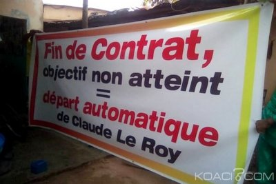 Togo : Le sit-in du MMLK contre Claude Le Roy dispersé