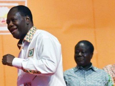 Côte d'Ivoire : Affaire cadres de PDCI-Renaissance exclus temporairement du PDCI, la réponse de Ouattara à Bédié?