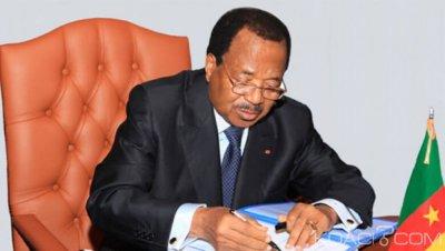 Cameroun : Biya restreint les déplacements à l'étranger des ministres et DG  des sociétés d'Etat