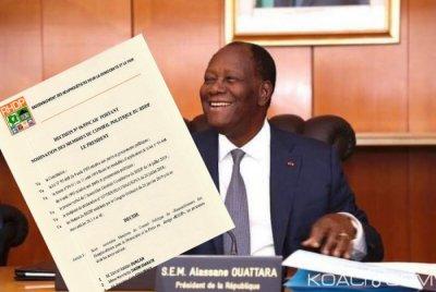 Côte d'Ivoire : Ouattara nomme les membres du Conseil politique du RHDP,  112 personnalités retenues dont les membres du Gouvernement