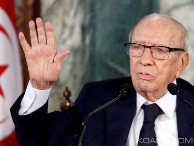 Tunisie : A 93 ans, Béji Caïd Essebsi ne souhaite pas briguer un deuxième mandat