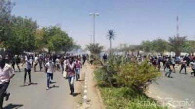 Soudan : Manifestations anti-Béchir, affrontements entre l'armée et les forces  de sécurité à Khartoum