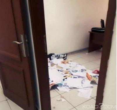 Côte d'Ivoire : A l'université de Bouaké, mécontents du taux d'admission, des étudiants vandalisent des bureaux de l'administration