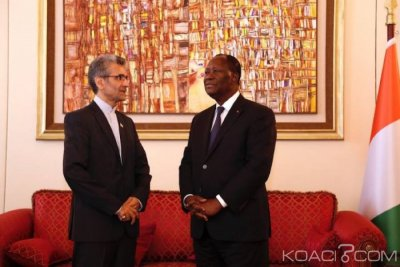 Côte d'Ivoire : L'Ambassadeur d'Iran en fin de mission fait ses adieux à Ouattara et révèle l'existence de plusieurs projets entre Abidjan et Téhéran