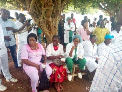 Côte d'Ivoire : Daloa, la Plateforme Santé bloque les activités dans les hôpitaux publics ainsi qu'au CHR pour exiger la libération d'un infirmier