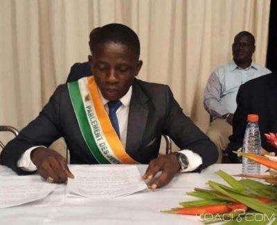 Côte d'Ivoire :  La délégation du Parlement des jeunes de Côte d'Ivoire brille de par son expertise terrain à Cotonou