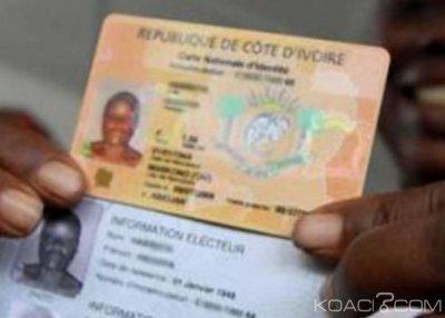 Côte d'Ivoire : Renouvellement des cartes nationales d'identité qui arrivent à expiration en juin avant la fin 2019