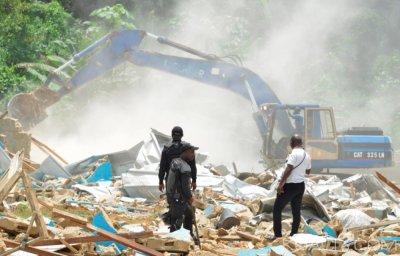 Côte d'Ivoire : Après la résistance, les occupants du Banco-Andokoi finalement déguerpis sous une forte escorte des forces de l'ordre