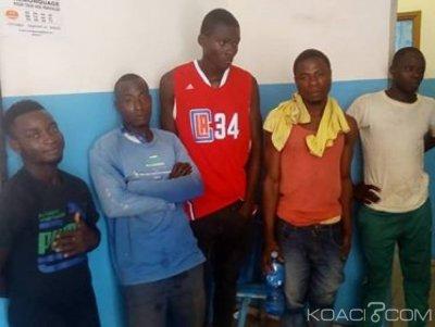 Côte d'Ivoire: Un gang de voleurs de matériaux interpellé par le 34ème arrondissement