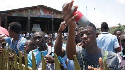 Gabon: Attribution des bourses, le gouvernement suspend les cours face à la colère des lycéens
