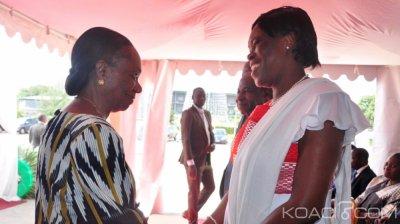 Côte d'Ivoire : Aux obsèques de Dadié, Simone et Dagri Diabaté, main dans la main