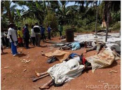 RDC: Béni, six civils tués à l'arme blanche par des rebelles ADF