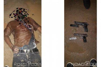 Côte d'Ivoire : Deux bandits du gang d'«Abou Major» abattus dans une tentative de braquage d'un véhicule de convoi de fonds