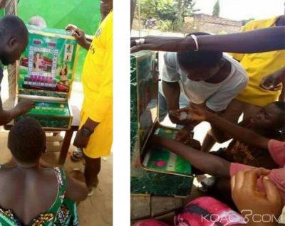 Côte d'Ivoire : À Sinavessou, un coin pusher installé par des chinois volé, les parieurs du village désorientés
