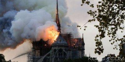 Guinée : Incendie de Notre-Dame de Paris , le don d'Alpha Condé à la France est une « fausse information »