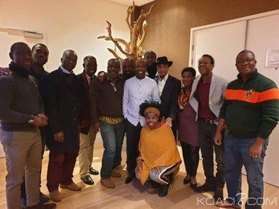 Côte d'Ivoire : Des Ivoiriens de la Hollande apportent leur soutien à Blé Goudé