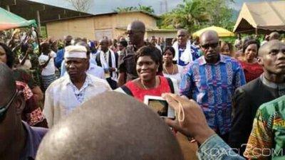 Côte d'Ivoire : Annoncée dans le grand Ouest, Simone accueillie en liesse à Man