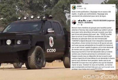 Côte d'Ivoire : Affaire des éléments du CCDO humilient des citoyens à Adjamé, les mis en causes sanctionnés