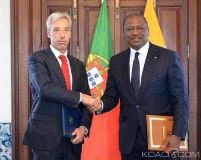 Côte d'Ivoire : Abidjan et Lisbonne signent un accord de coopération militaire dans le domaine de la sécurité maritime