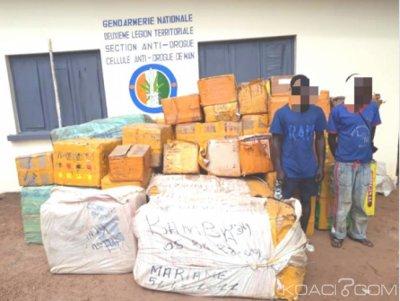 Côte d'Ivoire : Un entrepôt de médicaments de qualité inférieure falsifié découvert dans un village de l'ouest, deux suspects  interpellés