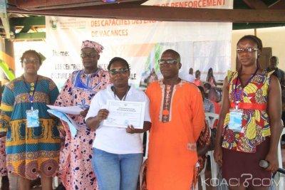 Côte d'Ivoire :  Abidjan, 274 jeunes dont des moniteurs, économes et Directeurs de centres de vacances formés sur la psychologie et les droits et devoirs de l'enfant