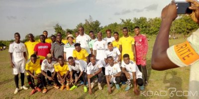 Côte d'Ivoire: Fc Malazane vainqueur du tournoi de la paix et du développement  de Brobo