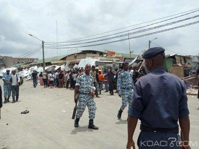 Côte d'Ivoire : A Cocody, les commerçants aux alentours du marché Cocovico déguerpis