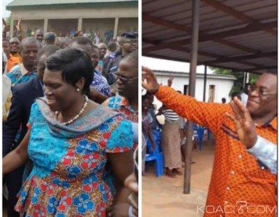 Côte d'Ivoire : Crise au FPI, depuis la France  Ohouochi Clotilde invite Affi N'guessan à revenir à la maison